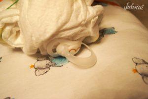 Schnuller als Elefantenschwänzchen