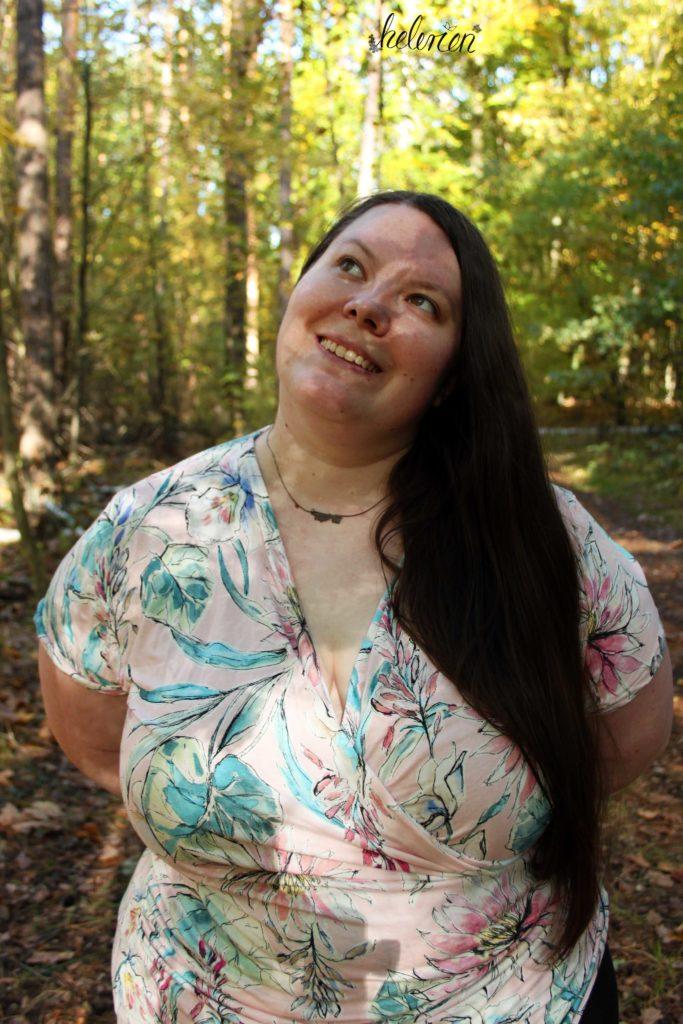 Wickelshirt Jessy im Wald