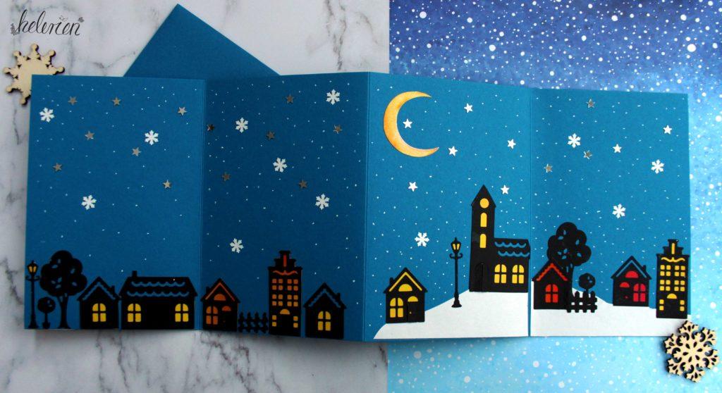 Weihnachtsdorfkarte