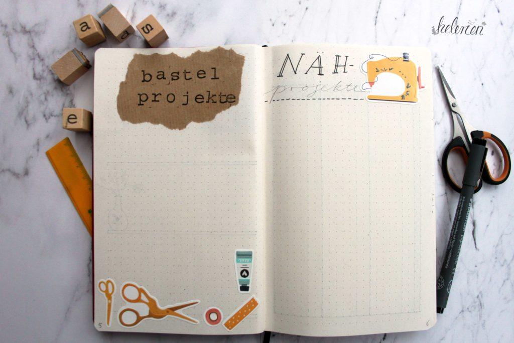 Bastel- und Nähprojekte