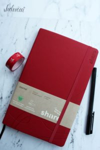 share Notizbuch als Bullet Journal