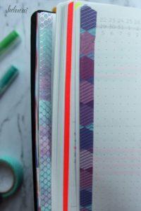 Washi Tape Markierungen
